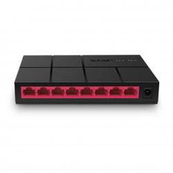 Switch mercusys ms108g 8 - puertos 10 100