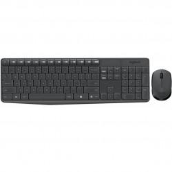 Teclado + mouse logitech mk235 inalambrico