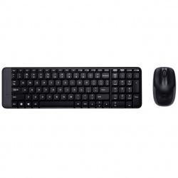 Teclado + mouse logitech mk220 wireless