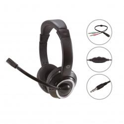 Auricular conceptronic polona02ba jack 3.5mm microfono