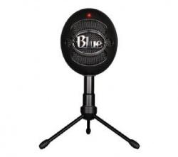 Microfono logitech blue snowball ice negro