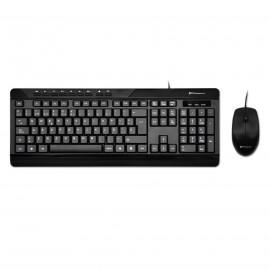 Combo teclado qwerty español multimedia phoenix