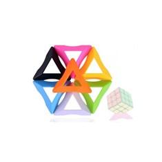 Soporte triangular cubo rubik moyu