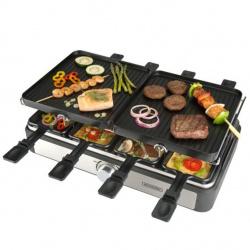 Plancha asar bpurgini gourmette raclette grill