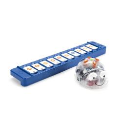 Robot blue - bot lector tactil
