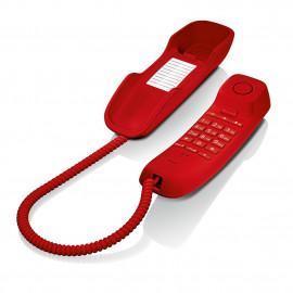 Telefono fijo gigaset da210 rojo 3
