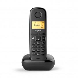 Telefono fijo inalambrico gigaset a270 negro