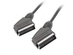 Cable euroconector lanberg macho macho 1.8m