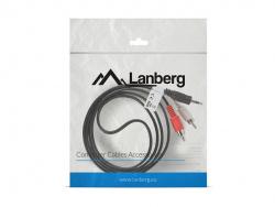 Cable estereo lanberg mini jack 3.5mm