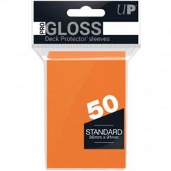 Fundas standard ultra pro color naranja