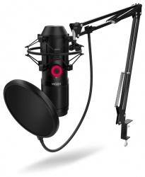 Kit microfono krom kapsule