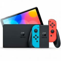 Consola nintendo switch oled mando color