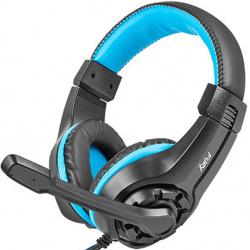 Auriculares gaming fury wildcat negro azul