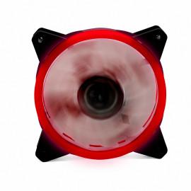 Ventilador phoenix led rojo gaming 120mm