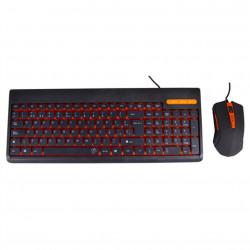 Kit teclado + raton negro black