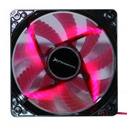 Ventilador auxiliar phoenix phcoolerfan12led 12cm 3