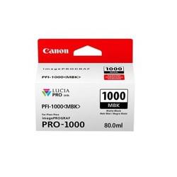 Cartucho tinta canon pfi - 1000 mbk negro