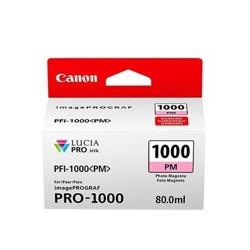 Cartucho tinta canon pfi - 1000pm foto magenta