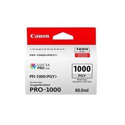 Cartucho tinta canon pfi - 1000pgy foto gris