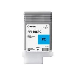 Cartucho tinta canon pfi106pc foto cian