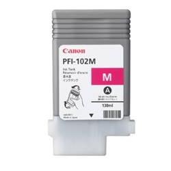 Cartucho tinta canon pfi - 102 magenta ipf500