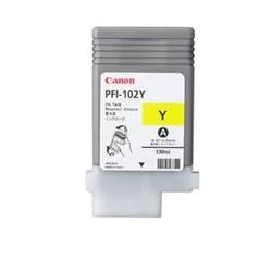 Cartucho tinta canon pfi - 102 amarillo ipf500