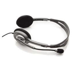 Auriculares con microfono logitech headset h110