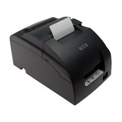 Impresora ticket epson tm - u220d usb negra