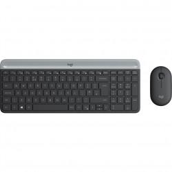 Teclado + mouse logitech mk470 wireless
