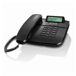 Telefono fijo gigaset da611 negro 100