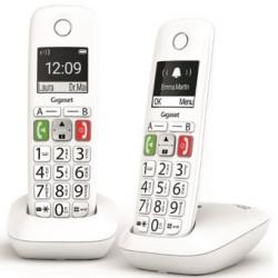 Telefono fijo inalambrico gigaset e290 duo