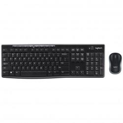 Teclado + mouse lofitech mk270 wireless