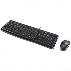 Teclado + mouse logitech mk120 optico